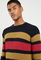 Superbalist - Stripe chunky pullover knit - multi