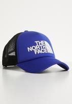 The North Face - Tnf logo trucker - blue & white