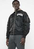 Jack & Jones - Unreal bomber - black