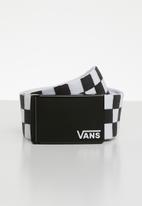 Vans - Deppster web belt - black & white