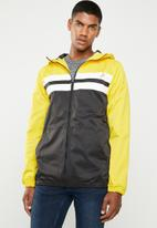Superbalist - Colour blocked zip through windbreaker - multi