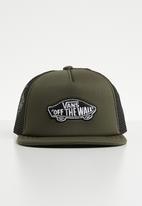 Vans - Classic patch trucker cap - khaki green