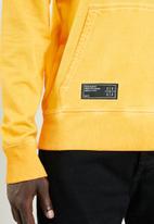 S.P.C.C. - Printed logo hoodie - yellow