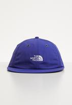 The North Face - Throwback tech cap - blue & white