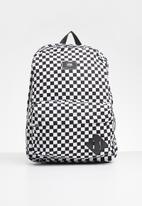 Vans - Old skool II backpack -  black & white