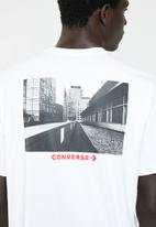 Converse - Street view tee - white