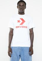 Converse - Star chevron tee - white