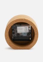 Present Time - Tom alarm clock - cork