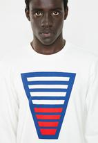 Only & Sons - Burhan crew neck sweater - white