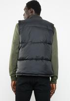 Only & Sons - Gilet puffer - black