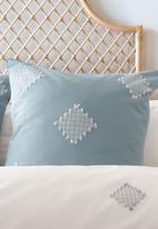 Linen House - Willshaw duvet cover set - petrol