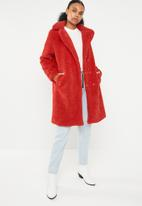 Vero Moda - Lala 3/4 jacket - red