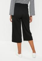 Vero Moda - Sigma coco culotte pants - black