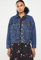 Superbalist - Oversized denim jacket - blue