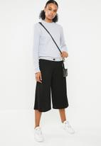 STYLE REPUBLIC - Wide leg culotte - black