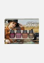 Morgan Taylor - African safari nail lacquer mini 4 pack ltd edition