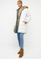 Brave Soul - Padded reversible jacket  - khaki & neutral