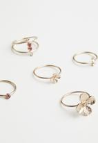 ALDO - Acly rings - pink