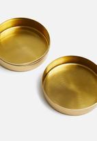 Sixth Floor - Lume storage box - gold