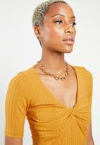 Sissy Boy - Freeze rib top - yellow
