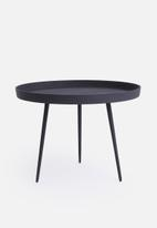 Present Time - Nimble side table - low black