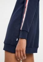 PUMA - Tape detail dress - navy