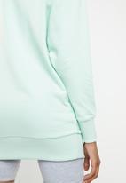 PUMA - Oversized crew neck - turquoise