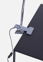 Present Time - Z clip on lamp - grey