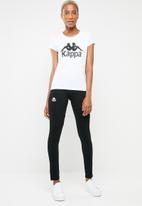 KAPPA - Authentic westessi T-shirt - white & black
