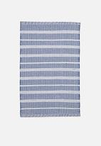 Sixth Floor - Marra bath mat - blue