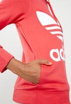 adidas Originals - Classic hoodie - pink & white