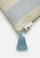 Sixth Floor - Apala cushion cover - blue