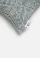 Sixth Floor - Sietka cushion cover - blue