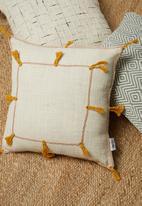 Sixth Floor - Tesiba cushion cover - yellow
