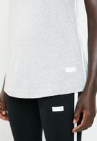 New Balance  - Athletics racerback tank -  grey
