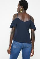 Revenge - Cut-out top - navy