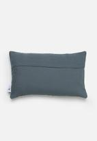 Sixth Floor - Fenway cushion cover - blue