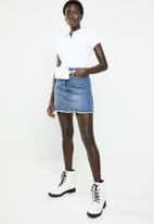 GUESS - Short sleeve classic polo - white