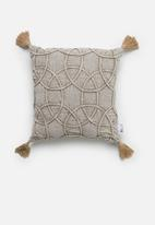 Sixth Floor - Foster cushion cover - taupe