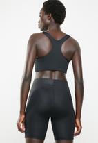 Nike - Swoosh metallic future bra - black
