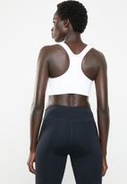 Nike - Nike swoosh metallic future bra - white