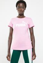 PUMA - Essential logo tee - pink