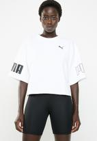 PUMA - Modern sport sweat tee - white