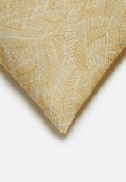 Hertex Fabrics - Dijon cushion cover - mustard