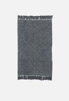 Sixth Floor - Sterling jacquard bathmat - grey