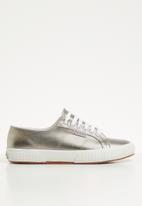 SUPERGA - 2750 Pu metallic foil shine - 082 grey