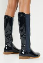 Miss Black - Route 668 boot - navy
