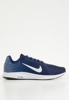 Nike - Downshifter 8 - blue void/pure platinum-ashen slate