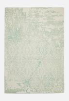 SF Collection - Kelemi dip dye rug - green