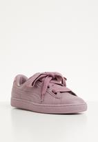 PUMA - Basket heart bio hacking - elderberry-puma silver